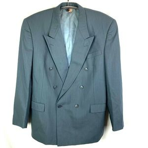 Double Breasted Suit Coat Vitale Barberis